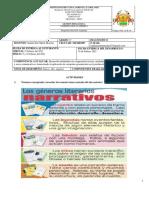 GUÍA DE DIAGNÓSTICO GRADO 6°