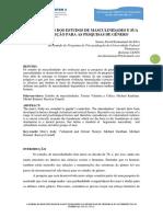 SOUZA - A CONSTRUCAO DOS ESTUDOS DE MASCULINIDADES
