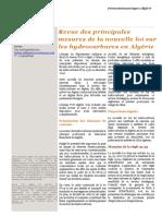 Fr Algerie Pwc Loi Hydrocarbure 2020