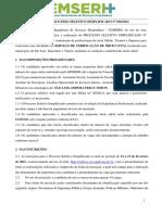 Processo Seletivo Simplificado 002 2021 1