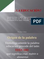 Tema No. 1_Qué es la educación