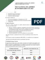 Bases del Torneo  Nacional de Ajedrez Interuniversitario UCE 2021