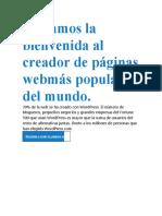 Guia Exacta - Wordpres
