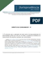 Jurisprudencia em Teses 162 - Direito do Consumidor - VI