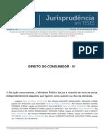 Jurisprudencia Em Teses 160 - Direito Do Consumidor - IV