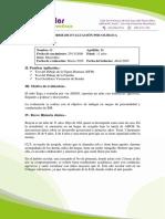Modelo Informe, Proyectivas COMO LEER Y TEST