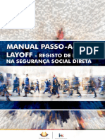 Manual Passo a Passo Layoff - Seg. Social Direta