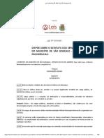 Lei nº 050 de 1991-SÃO GONÇALO
