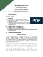 No. 4 EL SUPUESTO DE HECHO
