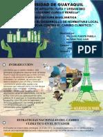 Guía Para El Desarrollo de Normativas Local en La Lucha Contra El Cambio Climático