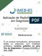 1 - Aplicação de Radiofármacos Em Diagnóstico