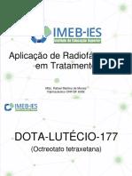 2 - Aplicação de Radiofármacos Em Tratamento