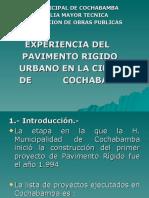 4. Presentación final Pav. Rigido en Cochabamba