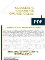 2.1 COPORTAMIENTO ORGANIZACIONAL