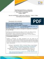 Guia de actividades y Rúbrica de evaluación Tarea 1.