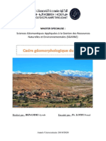 Cadre Géomorphologique Du Maroc Benammi