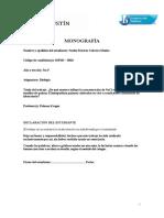 Ejemplo Monografia Biologia