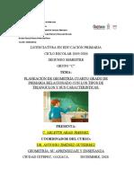 Planeación de Geometría. Arlette Abad Jiménez. 2c.