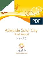 Adelaide Solar City Final Report