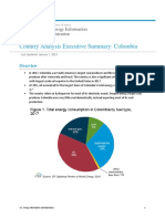 Colombia Energy Report by Eia