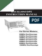 Analog Oscilloscope 0224