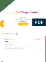 Ficha didáctica - Proyecto Integrador - Cuarto grado, febrero