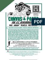 Beachwood Canvas Catalog 2009