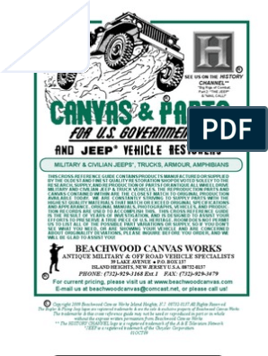 Beachwood Canvas Catalog 2009 | Engines | Rotating Machines