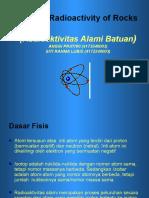 PPT RADIOAKTIFITAS BATUAN