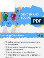 GAD - Gender and Socialization