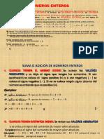 Operaciones con Enteros (1)