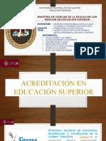 - Acreditación de Educación Superior y Analisis de Banca y Seguros