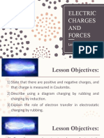 Lesson 1 - Electric Charges and Forces