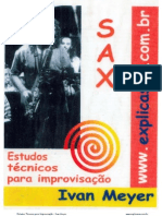 SAXOFONE - MÉTODO - Ivan Meyer_V2