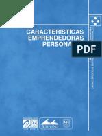 LECTURA - CARACTERÍSTICAS EMPRENDORAS PERSONALES
