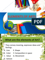 Elements of Art and Principles of Composition