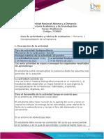 Guía de Actividades y Rúbrica de Evaluación - Unidad 1 - Momento 1 - Iniciación al curso de Resiliencia (1)