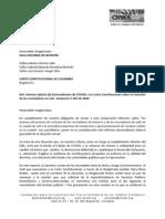 CiViSOL Informe 5 a la Corte Constitucional Extraordinario