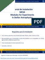 Tutorial Instalación MESA AAF511 Misael Valladares