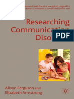 0230004504 Researching Communication Disorders