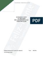 Psicología de las Diferencias Individuales, María Goretti