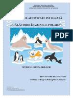 Proiect activitate integrata gradul 1 ANIMALE POLARE