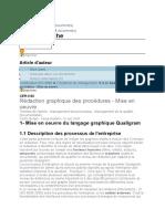 Rédaction graphique des procédures - Mise en oeuvre