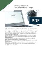 20 astuces avancées pour mener efficacement une recherche sur Google