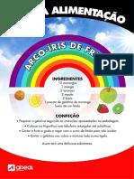 Arco-÷ris de Fruta (sobremesa saud†vel)