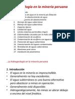 Sesión10_Hidrogeología en la minería peruana