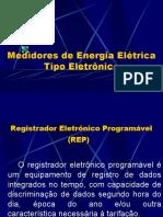 Medidores de Energia Elétrica Tipo Eletrônico
