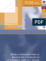 MODELO INTEGRADO • Manual de Operación 2009 cap.1