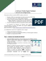 NTRIP con Trimble Digital Fieldbook v1.0