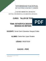 Estadistica Descriptiva Medidas de Sintesis_dante Alan López Rosales